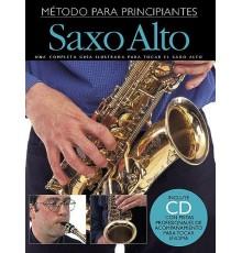 Empieza a Tocar Saxofón Alto   CD