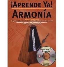 ¡Aprende Ya! Armonía   CD