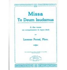 Missa Te Deum Laudamus