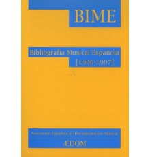Bibliografía Musical Española (1996-1997