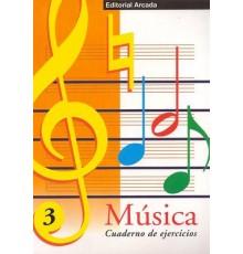 Cuaderno de Música Vol. 03 Ejercicios