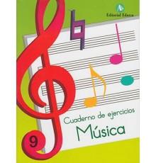 Cuaderno de Música Vol. 09 Ejercicios