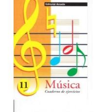 Cuaderno de Música Vol. 11 Ejercicios
