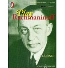 Play Rachmaninoff Clarinet   CD