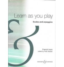 Learn as You Play Scales Arpeggios Frenc
